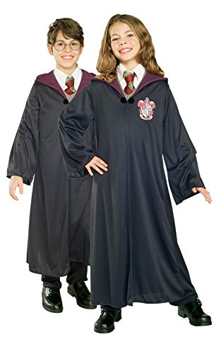 Rubie's Official Harry Potter Gryffindor Classic Robe Costume, Childs Size Age 9-10 (Ron Weasley Costume Uk)