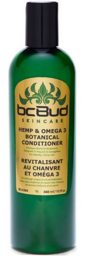 Hemp & Omega 3 Botanical Conditioner - Natural Moisturizing, Repairing Hair Conditioner for Damaged Hair, Dry Hair, Normal Hair, Oily Hair, Thin Hair, Frizzy Hair, Silicone Free, Sulfate Free (Hemp Hair Conditioner Moisturizing)