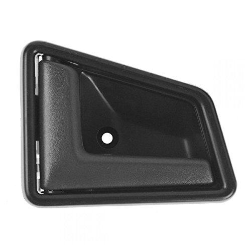 Black Front Interior Inside Inner Door Handle Driver Side Left LH for (Suzuki Sidekick Driver)