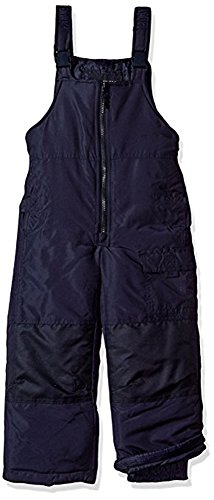 London Fog Big Boys' Classic Heavyweight Snow Bib Ski Pant (8, Navy)