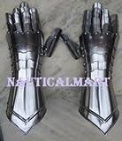 Medieval Knight Steel Armor Gauntlets Gloves By Nauticalmart