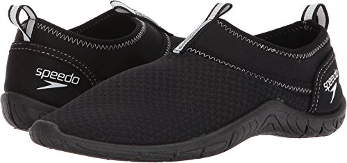 Speedo Women's Tidal Cruiser Water Shoes Black/White 8