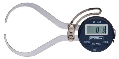 "Fowler 54-554-630 Xtra-Value External Electronic Caliper Gage, 0-6"" Measuring Range, 0.01"" Accuracy"