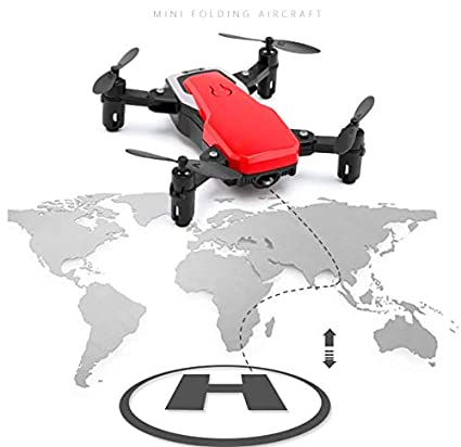 SDGSGSGDF Mini Drone Plegable de Cuatro Ejes de Larga duración ...