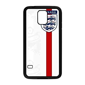 Flag of England_003 TPU Cell Phone Case For samsung galaxy s5 Black