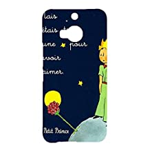 Htc One M9 Plus Cover,Le Little Prince Quotes Phone Case Classic Unique Animation Movies The Little Prince Le Petit 3D Protect Case Cover