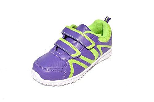 BTS - Zapatillas de Piel para niño 36 Varios Colores - Lila/ Grün
