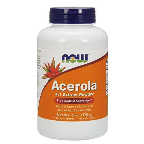 NOW Acerola Powder,6-Ounce
