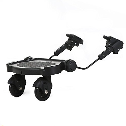 Stroller Glider Board Up to 110 LBS Universal Compatible with Most Lightweight, Folding or Umbrella Strollers