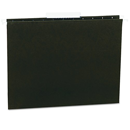 Universal 14113 Hanging File Folders, 1/3 Tab, 11 Point Stock, Letter, Standard Green, (11 Point Stock Letter)