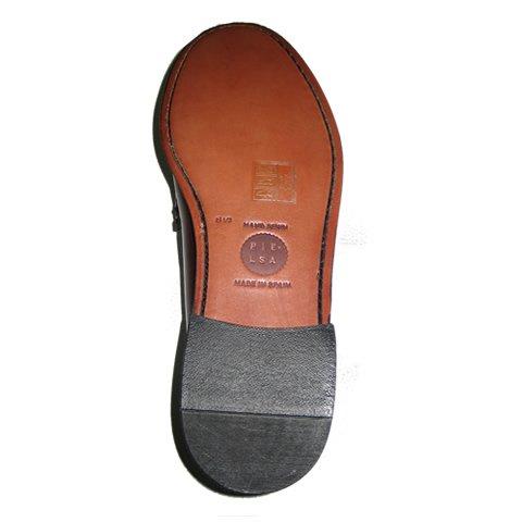 Pielsa 1396 Mocasín Americano Burdeos - Mocasín de piel y piso de cuero para hombre: Amazon.es: Zapatos y complementos