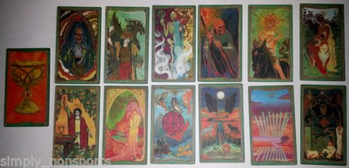 "MORTAL INSTRUMENTS ""CITY OF BONES"" PROP TRADING TAROT VARIANT CHASE 13 CARD SET"
