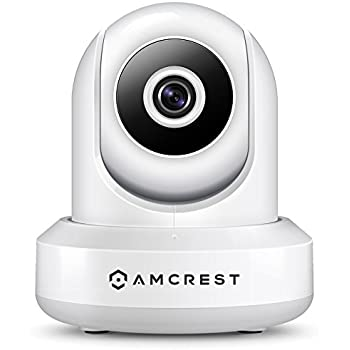 Amcrest HDSeries 720P WiFi Wireless IP Security Surveillance Camera System IPM-721 (White)