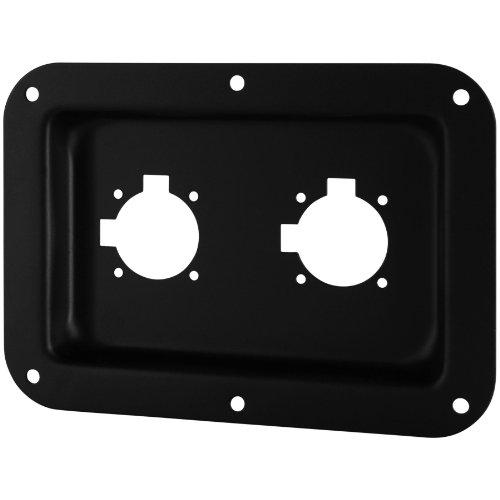 "Penn-Elcom D028K Dish Two EP/NL4MR Black 5"" x 7"""