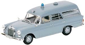 Mercedes-Benz 190 Ambulancia Cruz Roja Alemana'61