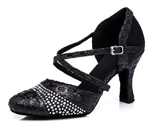 l316 Heel Donna Sala Da Minitoo 7 Minitoouk Black 5cm 6BRq5x