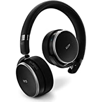 AKG N60NC On-Ear Noise-Cancelling Bluetooth Headphones with Built-In Remote and Mic (Black)