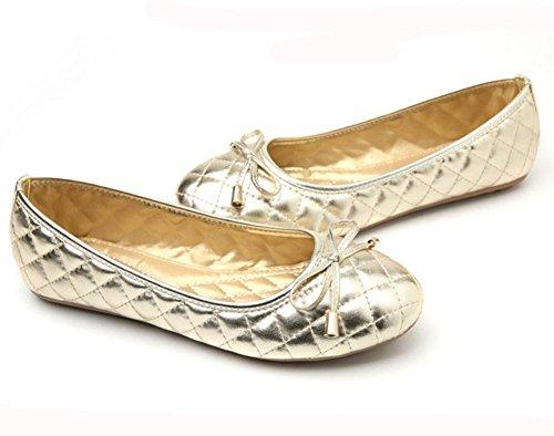 Femenino De Planos Arco Solo Gran Trabajo 3 Meili Tamaño Femenina Marea Zapatos Antideslizantes Cómodo 4Uxap