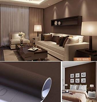 Dormitorio autoadhesivo salón color sólido papel pintado ...