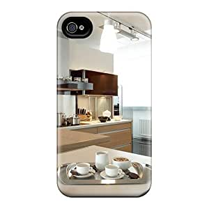 HQVHFcZ5549soiPV Tpu Case Skin Protector For Iphone 4/4s Nice Kitchen Set Up With Nice Appearance