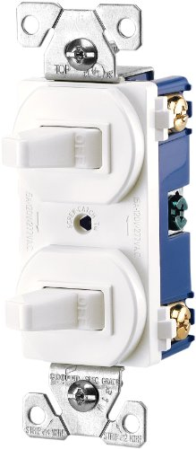 eaton 271wbox 15amps 120277volt traditional heavy duty grade two singlepole switches white