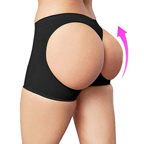 Sigerpama Womens Butt Lifter Panties Shapewear Boy Shorts Enhancer Shaper Panty
