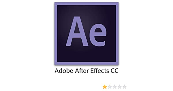 Amazon com: Adobe After Effects CC | 1 Year Subscription