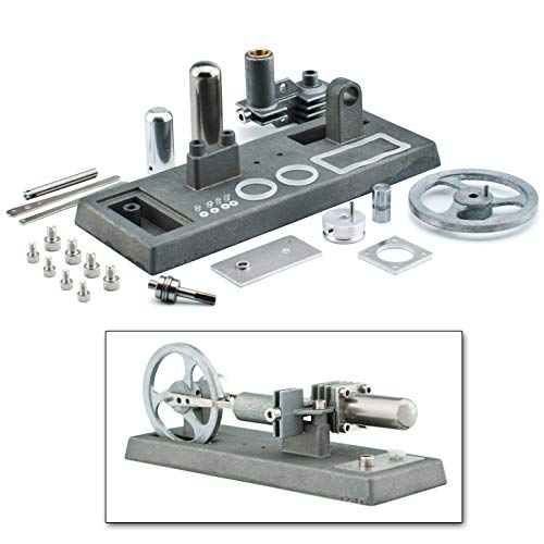 DjuiinoStar Hot Air Stirling Engine Assembly Kit: Spend 30 Minutes to Build Your Own Stirling Engine