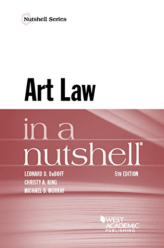 Art Law in a Nutshell (Nutshells)