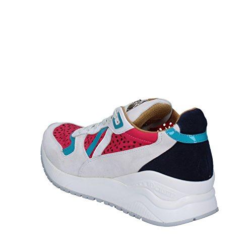 Daim 4us Cesare Paciotti Femme Blanc Sneakers qzIYIw