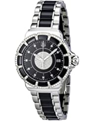 Tag Heuer Womens WAH1219.BA0859 Formula 1 Lady Black Dial Dress Watch