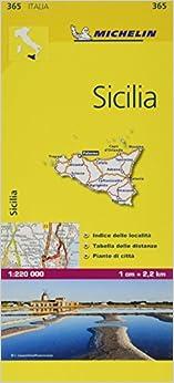 Mapa Local Italia Sicilia (mapas Local Michelin), 1:220.000 por Michelin epub