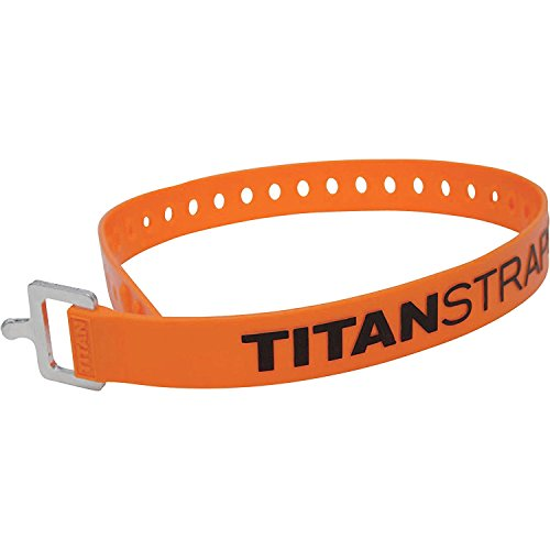 4-Pack of 25Inch Titan Straps - 70-Lb. Working Load Ea., Model# TS-0125X4-O by TitanStraps
