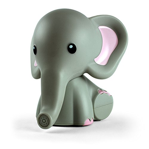 Kids Night Light, Elephant | Portable & Bedside Nightlight | 5 Color Changing LEDs & Auto Timer | mybaby, Comfort -