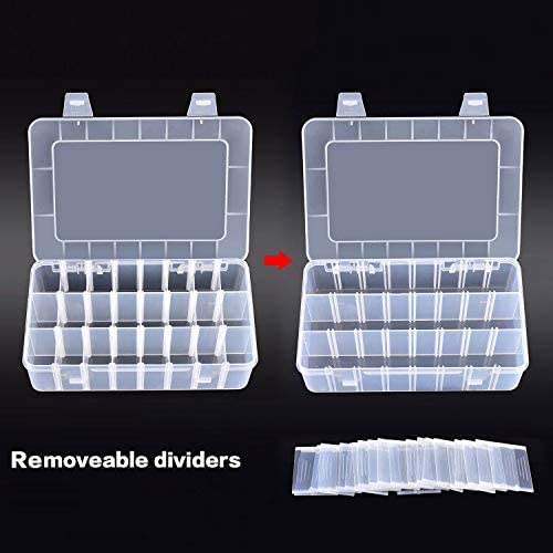 96 Pieces 30mm Coin Capsules with Plastic Storage Organizer Box Coins Collecting Case Holder for Coin Collection Supplies