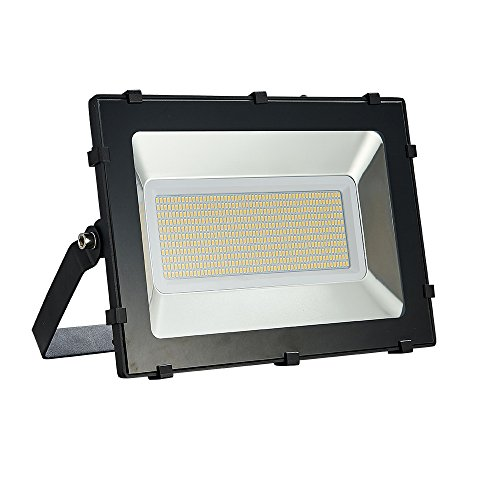 Viugreum 300W LED Flood Light, Waterproof IP65 30000LM Outdoor Super Bright Security Lights, Warm White (2800-3200K) Stadium Lights for Garden, Garage, Factory, Warehouse, Square, Billboard