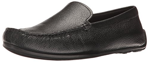 Leather Clarks Uomo Clarks Sneaker Sneaker Black w1qZYZ0