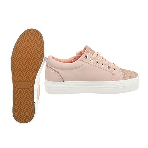 Chaussures Low Ital Plat Espadrilles Baskets Femme Sneakers Design Mode q8F4vx58