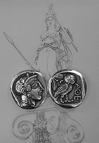 Mark of Athena Coin Greek God & Goddesses Coin Collection, (#12S) (Nike Goddess Necklace)