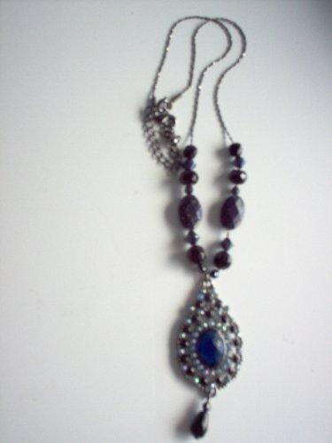 Avon Midnight Blue Necklace