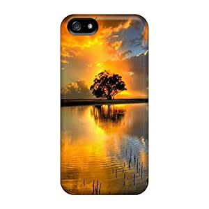 UXf5983rGbE Rmcase Awesome Sun Durable Iphone 5/5s Tpu Flexible Soft Case