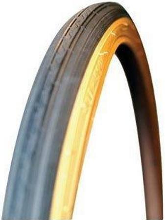 (Kenda K40 Street Tire, 26 x 1-3/8 Wire Black/Yellow Skin)