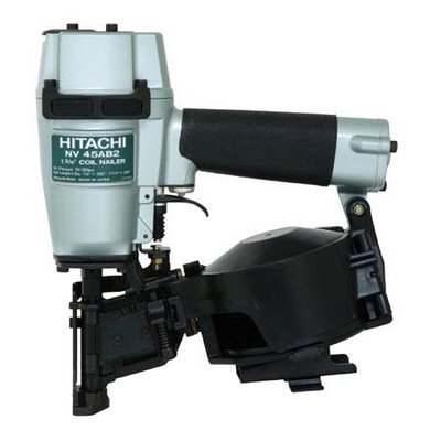 1.75 inch Power Head Roofing Coil Nailer Side Load Magazine