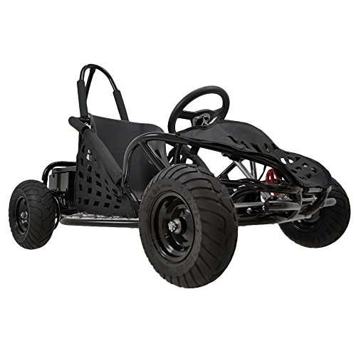 Go-Bowen XW-GGK1-BLK Gas Kids Go-Kart, Black
