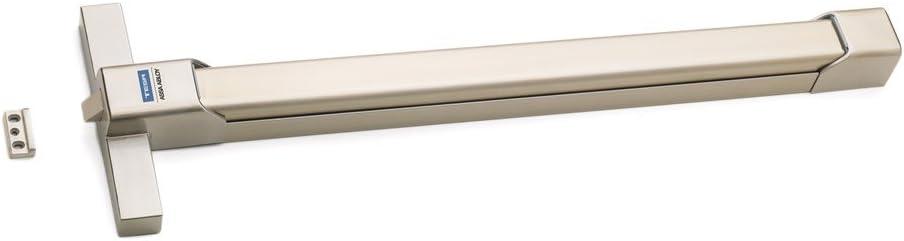 Tesa Assa Abloy TOP1E108IL16 Barra antipánico de embutir, Inox, Puerta 1.000 mm