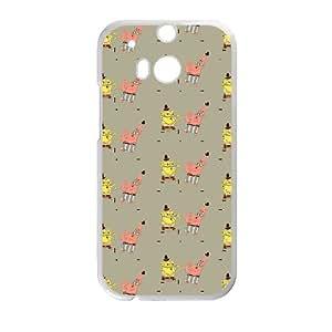 Fashionable Case Spongebob for HTC One M8 WASXT8475112