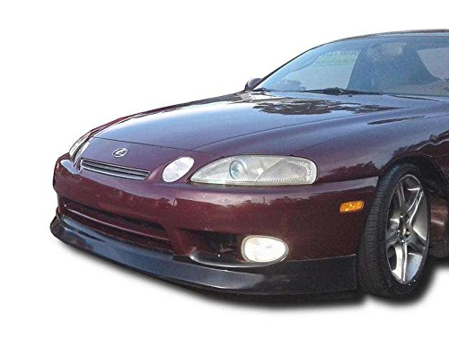 (Lexus SC SC300 SC400 1997-2000 Premier Style 1 Piece Polyurethane Front Lip manufactured by KBD Body Kits. Extremely Durable, Easy Installation, Guaranteed Fitment and Made in the USA!)