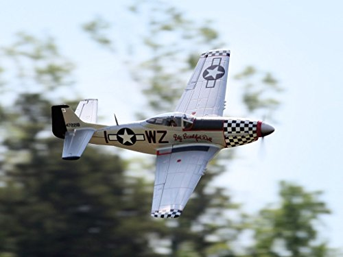 FMS P-51D Mustang Big Beautiful Doll V8 6CH 1450mm (57