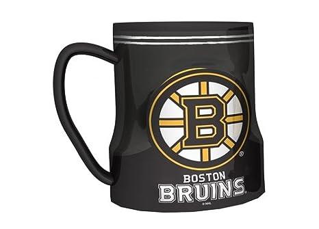 Amazon.com   Boston Bruins Coffee Mug - 18oz Game Time   Sports ... 65258ddccfa7