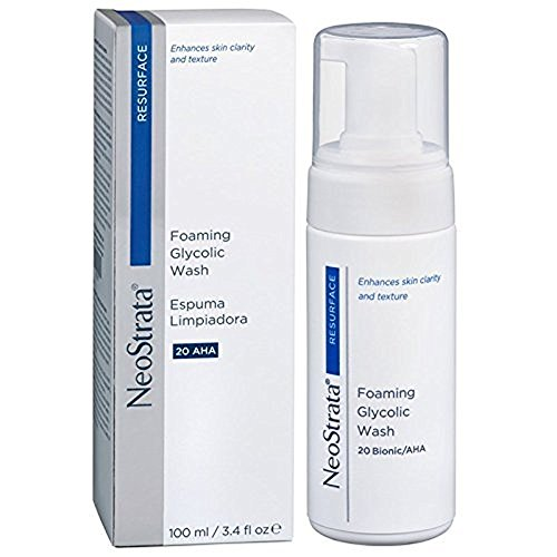 Neostrata Glycolic Wash (NeoStrata Foaming 20% Glycolic Wash 100ml 3.4oz)